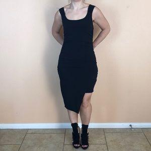 Guess black stretch fabric dress size M